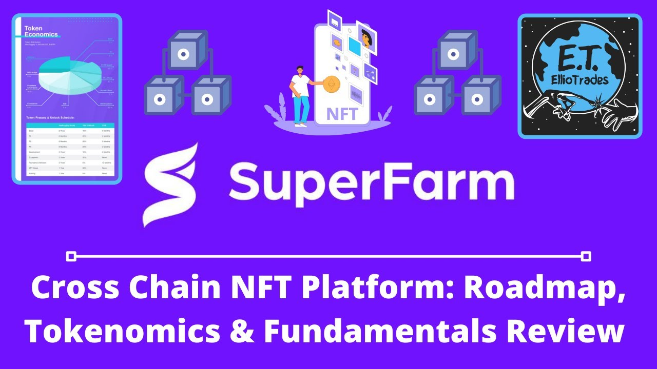 SuperFarm  Altcoin Review NFT Platform with Cross Chain Interoperability by EllioTrades