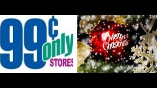 🎅🎄NEW Part 1 of CHRISTMAS 2019 @ 99 Cents Store Only!! 🎁🎄