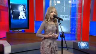Jackie Evancho Fox and Friends Singing Reflection After The Show Oct 5 2012