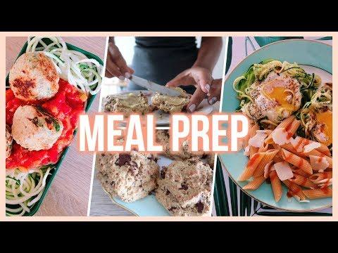Healthy Meal Prep | Préparer Ses Repas De La Semaine // Recettes Faciles & Santé !