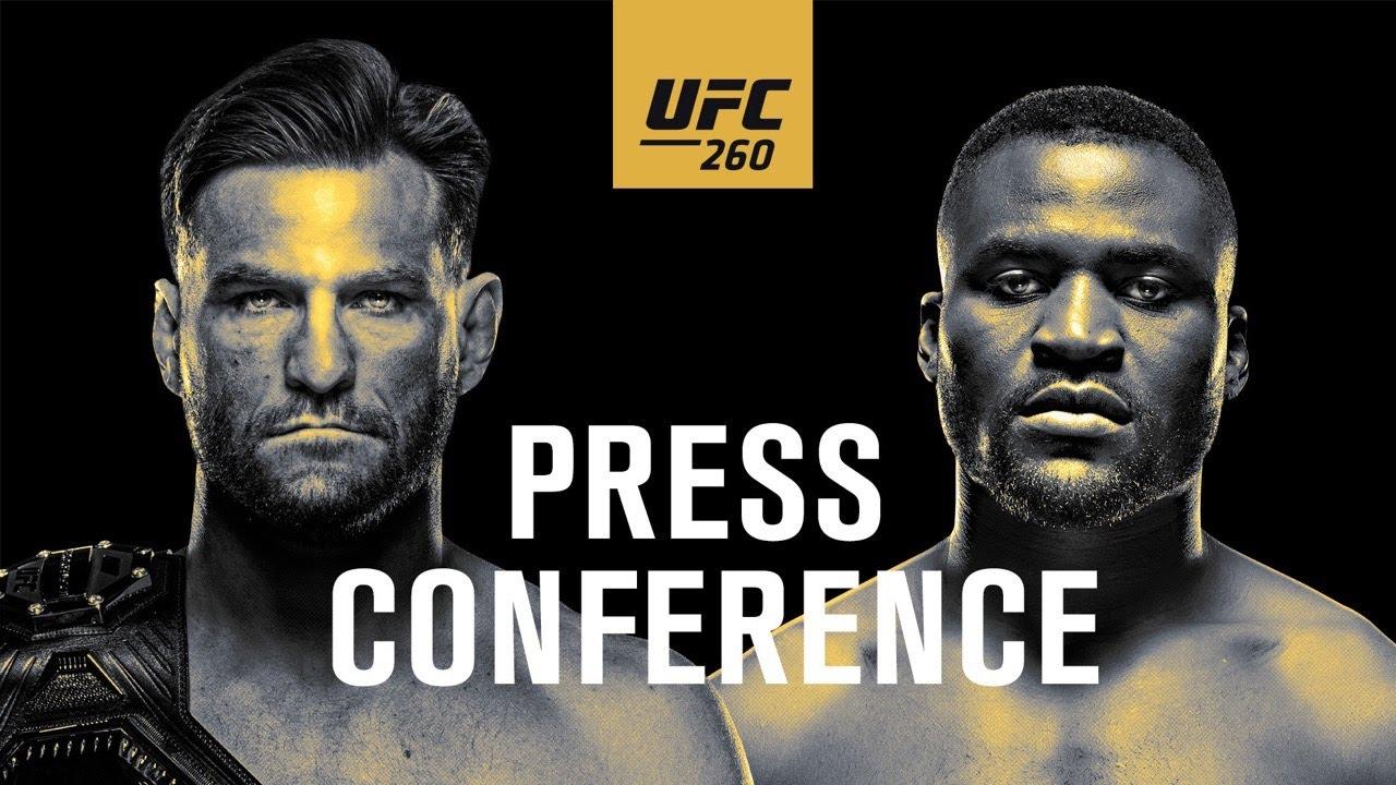 UFC 260: Press Conference