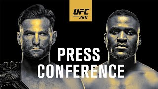 UFC 260: Press Conference