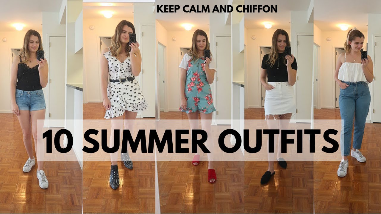 SUMMER OUTFIT IDEAS + INSPIRATION 2019 | EASY OUTFITS 2