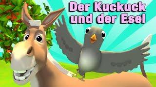 Der Kuckuck und der Esel - Kinderlieder | Jippiedoo Kinderlieder