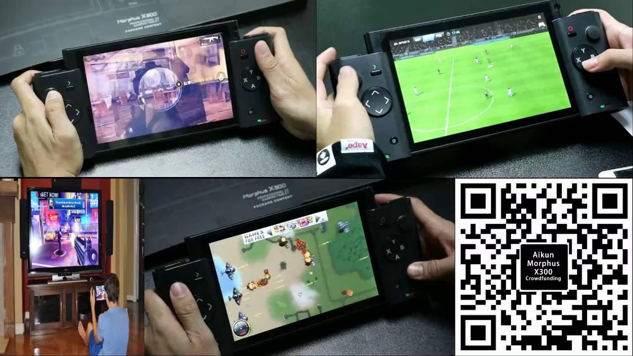 Aikun Morphus X300 Gaming Video - YouTube
