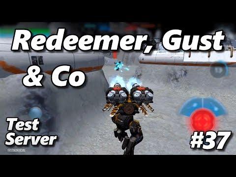War Robots - Redeemer, Gust & Co - Testserver 37