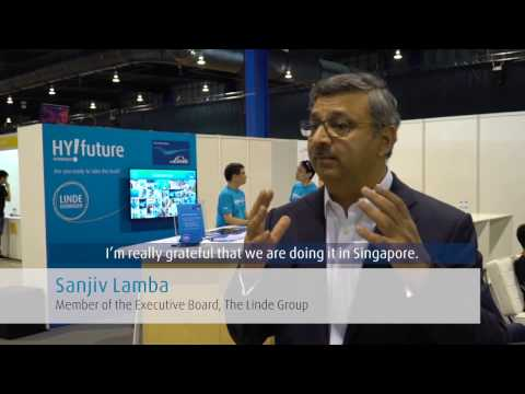 Executive Interview: Linde's Sanjiv Lamba on How to Carry Hydrogen Tech into the Future