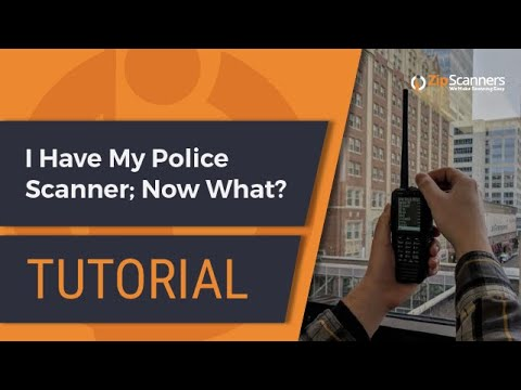 I Have My Police Scanner