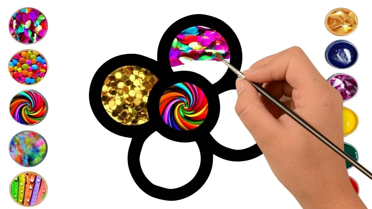 Best coloring videos learn to draw for kids
