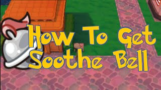Pokemon Omega Ruby & Alpha Sapphire Tips : How To Get Soothe Bell Location