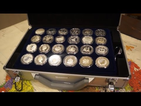 Silver Bullion One Of A Kind Collection Of Rarest Large