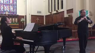 Grand Fantasia (flute, clarinet, piano) -- Malcolm Arnold (1921-2006)