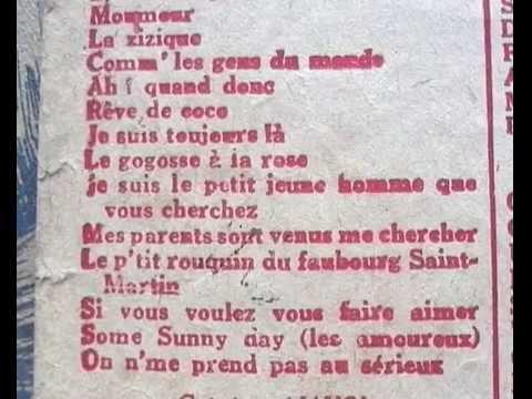 """Paroles de """"Mon Paris"""" de Lucien Boyer et Vincent Scotto"""