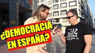 ¿HAY DEMOCRACIA EN ESPAÑA?