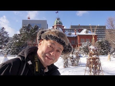 北海道札幌の旅 札幌市内観光  Sightseeing in Sapporo-shi, Hokkaido