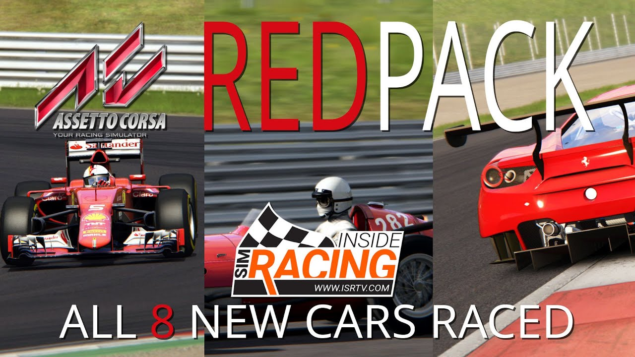 Assetto Corsa Red Pack All 8 New Cars Raced Youtube