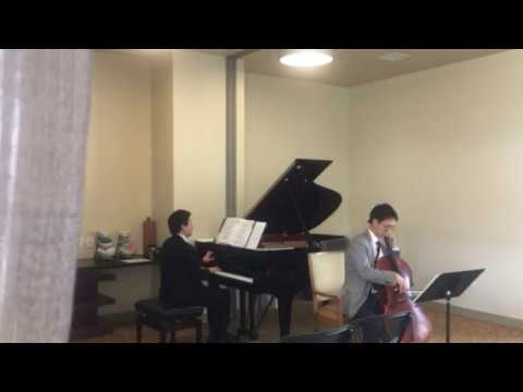Chopin Sonata for Cello and Piano 3rd. (Cello.August Lee, Piano.Hansol Kang)