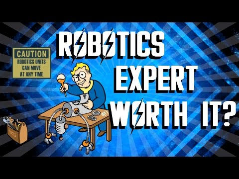 Fallout 4 - Robotics Expert Perk - Is It Worth It?