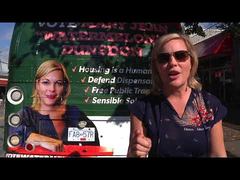 "Vote Mary Jean ""Watermelon"" for Vancouver City Council!"