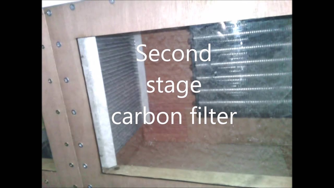 Under unit air filter and water cooler for laser cutters and engravers