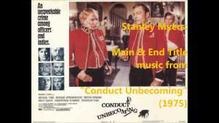 "Stanley Myers: music from ""Conduct Unbecoming"" (1975)"