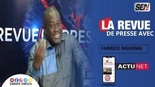 La Revue de Presse en Français de 12h avec Fabrice Ngema