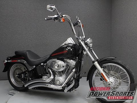 Harley Davidson Deuce >> 2007 HARLEY DAVIDSON FXST SOFTAIL - National Powersports Distributors - YouTube