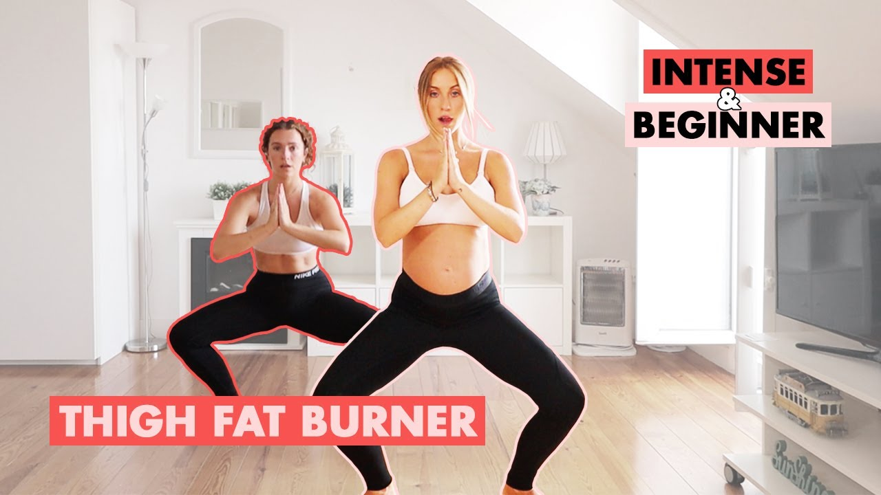 Thigh Fat Burner - Level Up Beginner and Intermediate