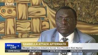 CGTN : South Sudan to Work With Ethiopia to Find Attackers