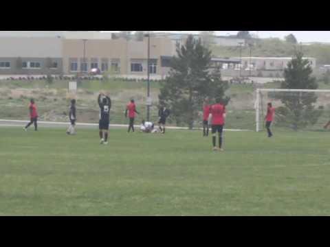 Guatemalan David Ramos scores Golazo for Cougars FC at Denver Colorado, US