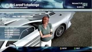 McLaren F1 in PC game Test Drive Unlimited 1 - showroom, test drive, buy and drive