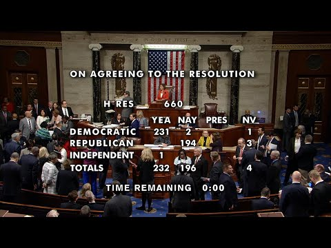 Frankie Darcell - House Of Reps Passes Impeachment Process Resolution For POTUS Trump