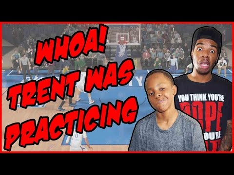 WHOA! TRENT'S BEEN PRACTICING!! - NBA 2K16 Gameplay ft. Trent | Game 4 Series 1