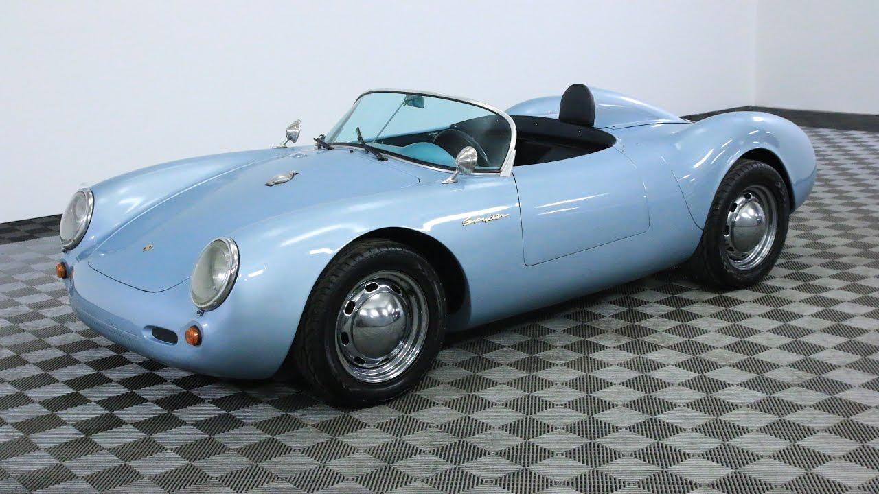 1955 Porsche Spyder Beck Replica Youtube