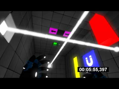Q.U.B.E - Speedrun, Entire game - 29m 10s