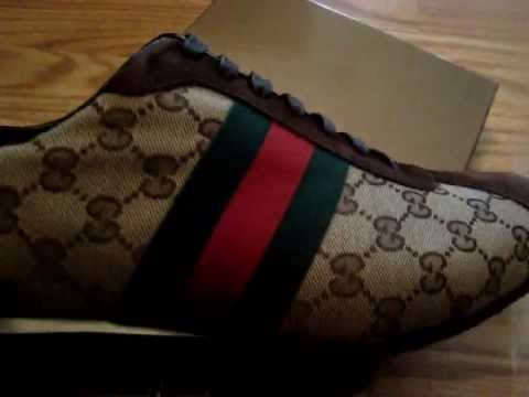 83be1f86653 Unboxing AUTHENTIC Gucci Shoes - YouTube