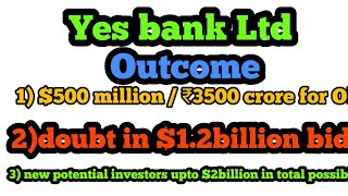 Yes bank Ltd | T -RUTH |outcome of board meeting
