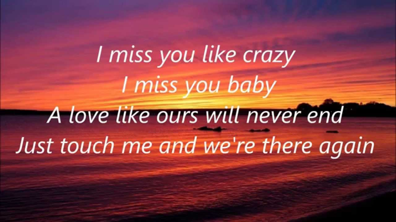 I Miss You Like Crazy Natalie Cole Youtube