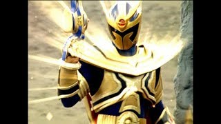 """Power Rangers Mystic Force - Solaris Knight vs Imperious 