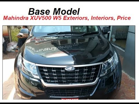 Mahindra XUV500 W5 Base Model in 15 Lakh. Looks, Interiors, Features