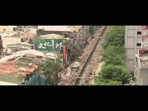 Footage Taiwan Gas blasts Caught On Camera
