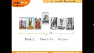 Aprende a leer el Tarot: Lectura del septenario (ejemplo  2), con los 78 arcanos del Tarot Rider