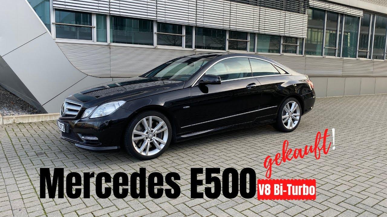 Mercedes E500 Coupé gekauft!