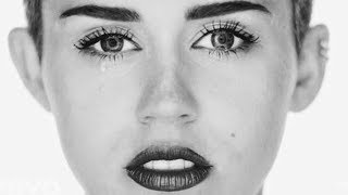 Miley Cyrus - Face Transformation | #wahyoutube