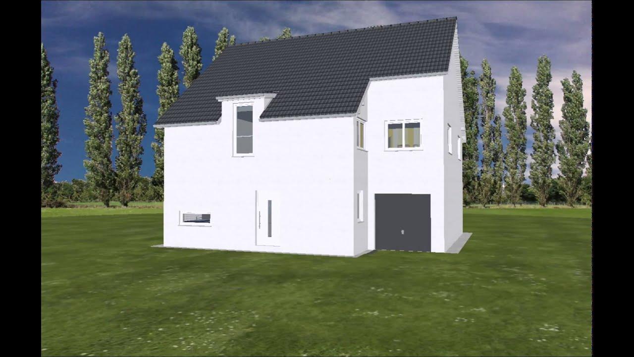 Anbau Erker emi support fertighaus einfamilienhaus 240cm kniestock garage erker
