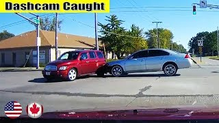 Ultimate North American Cars Driving Fails Compilation - 185 [Dash Cam Caught Video]