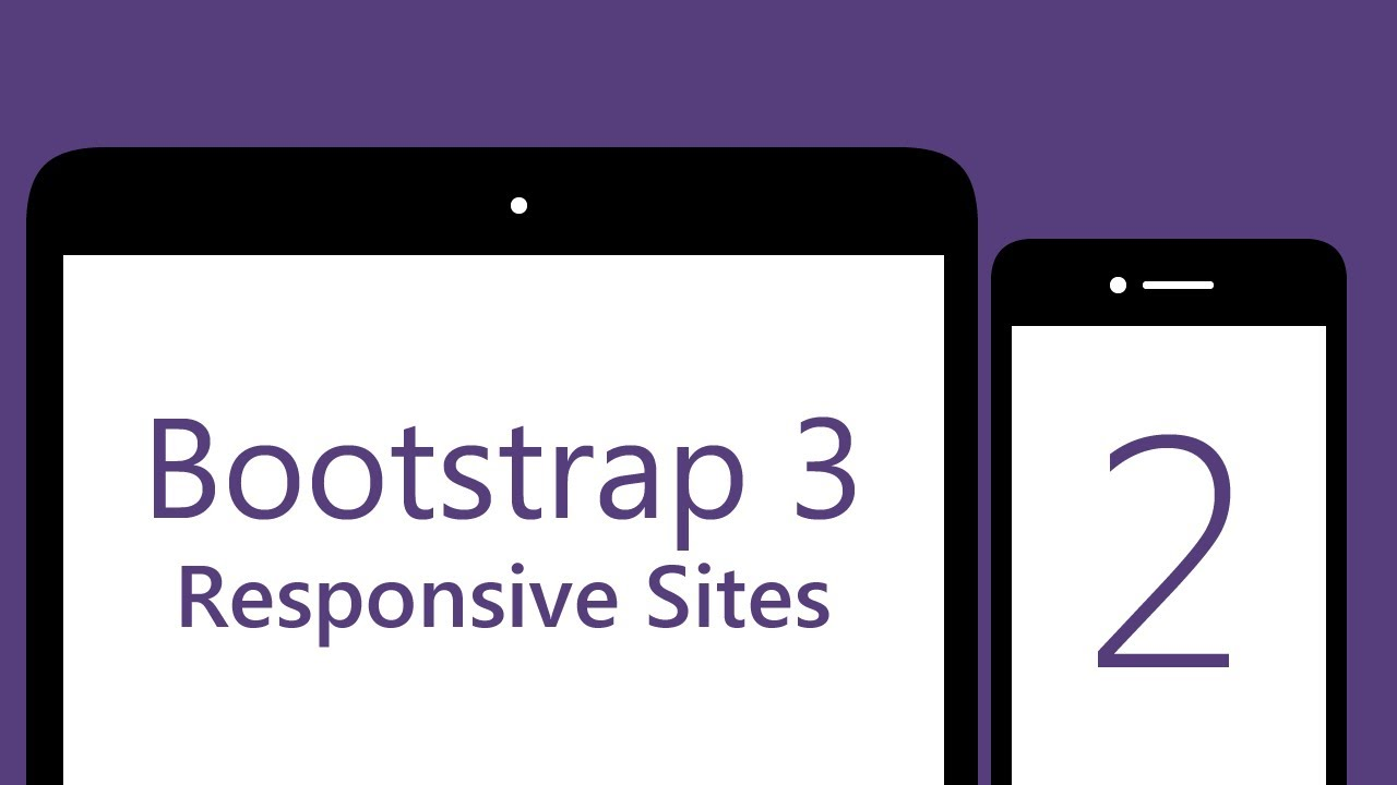Bootstrap 3 Tutorials - #2 - Responsive Collapsing Navbar [1080p]