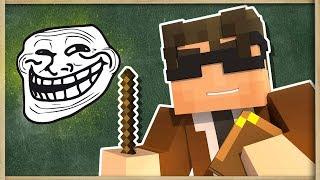 TROLL ÖĞRETMEN ÖĞRENCİLERİNİ TROLLÜYOR (Minecraft Animasyon)