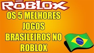 THE 5 BEST BRAZILIAN GAMES IN ROBLOX 🎮