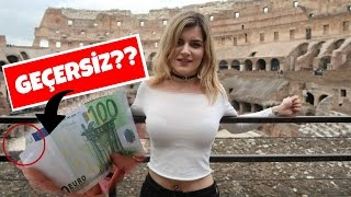 KOLEZYUM GEZİSİ & Ucu Yırtık 100 Euro İle Ne Yapılır?